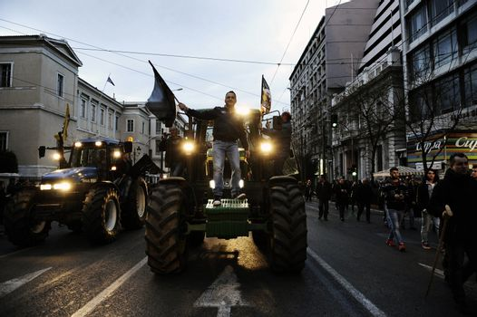 GREECE - ECONOMY - AGRICULTURE - DEMONSTRATION