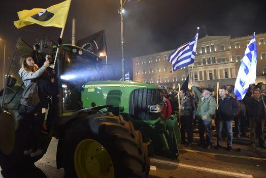 GREECE - POLITICS - PENSION REFORMS