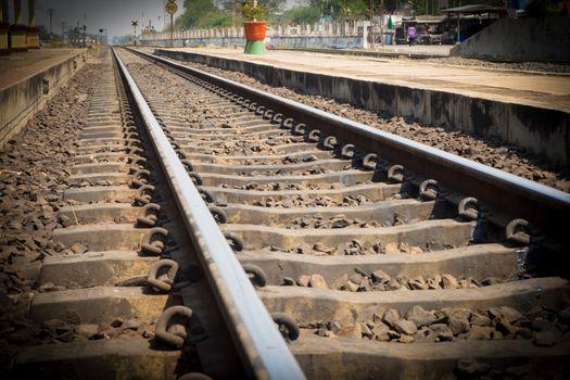 Railway of Train