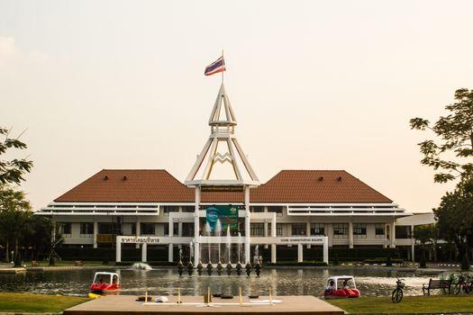 Dome, Administration Building, Thammasat University