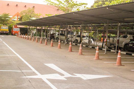Van and Car Parking, University parking