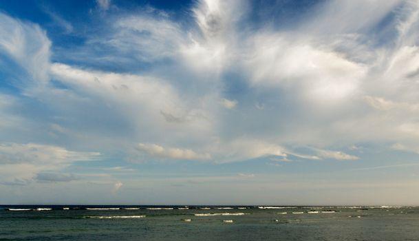 Beauty Fleecy Clouds