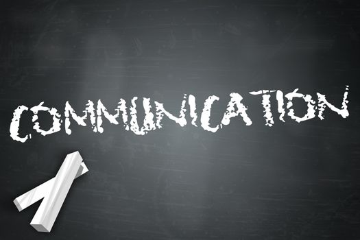 Blackboard with Communication wording
