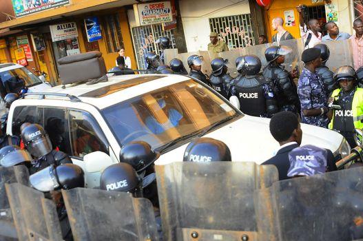 UGANDA - ELECTIONS - VIOLENCE