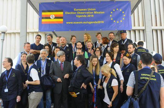 UGANDA - ELECTION - OBSERVATION - EU
