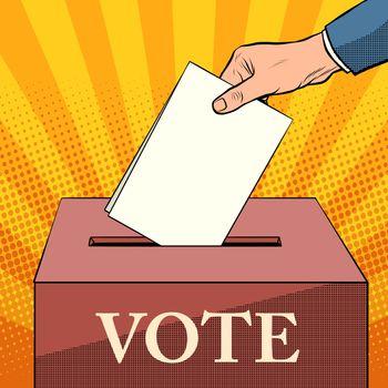 voter ballot box politics elections