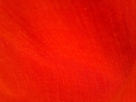 Red wavy fabric closeup background