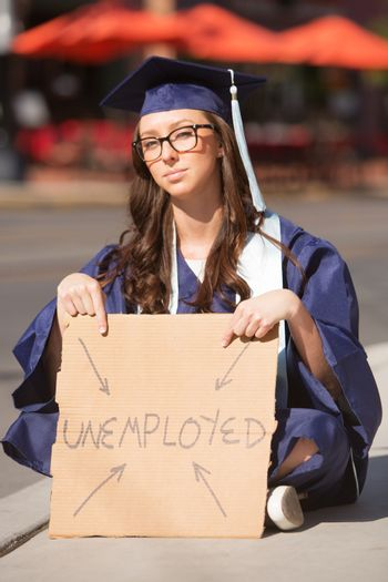 Unemployed Young Graduate