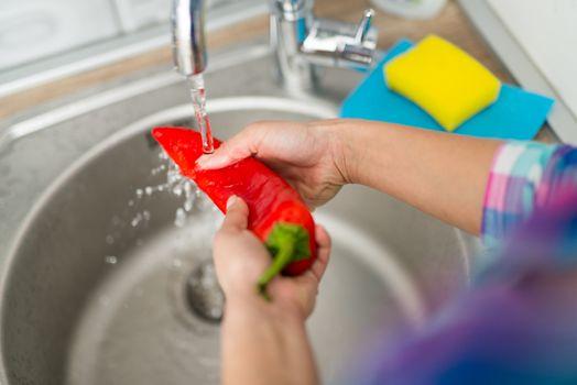 Wash Vegetable