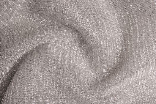 Sparkling metallic textile