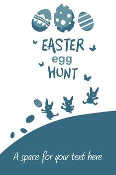 easter egg hunt graphic