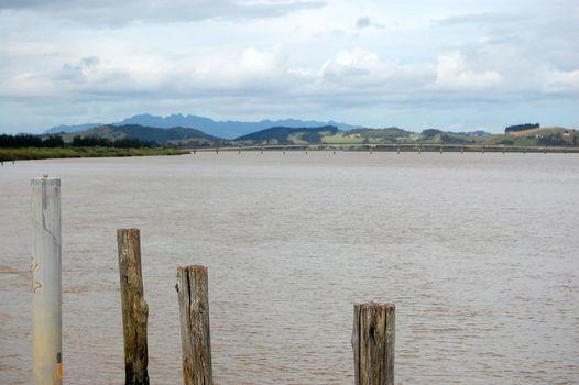 Dargaville river landscape New Zealand