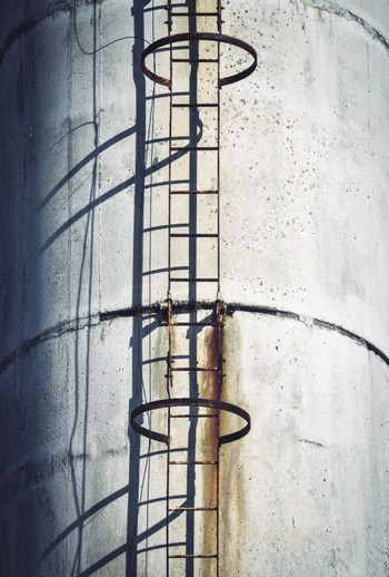 chimney with a ladder