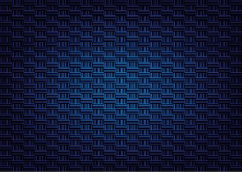 shape vertical and horizontal texture dark blue color