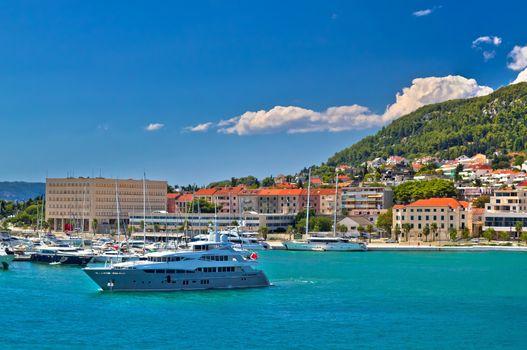 Adriatic coast in Split yachting destination