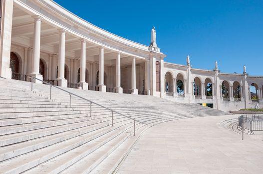 Colonnade of Fatima Sanctuary