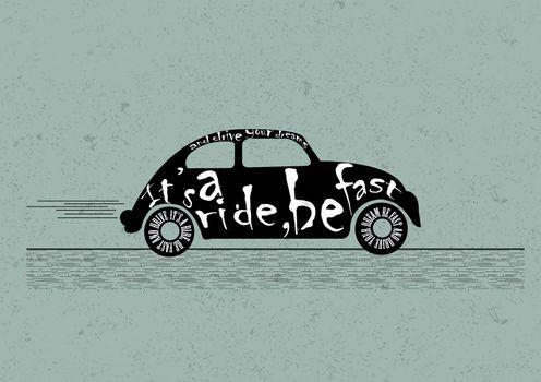 2d car illustration