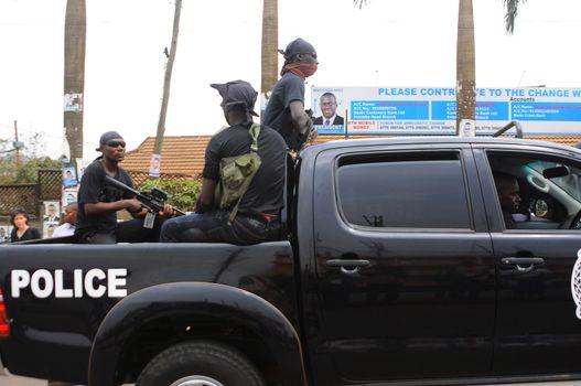 UGANDA - ELECTIONS - KIIZA BESIGYE