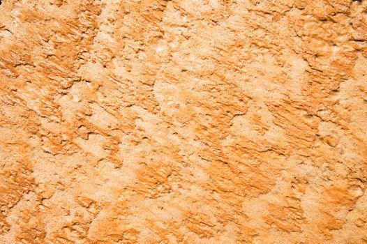 Eroding sandstone wall