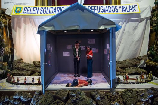 SPAIN - MADRID - REFUGEES