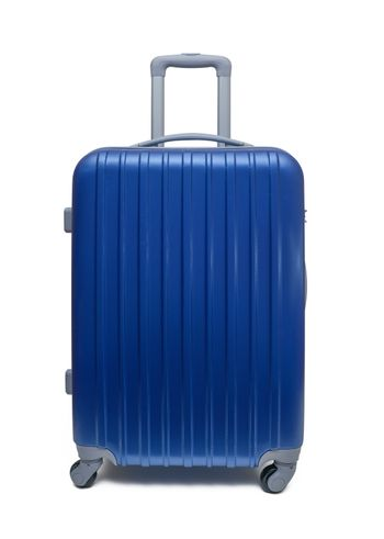 travel suitcase with clipping path