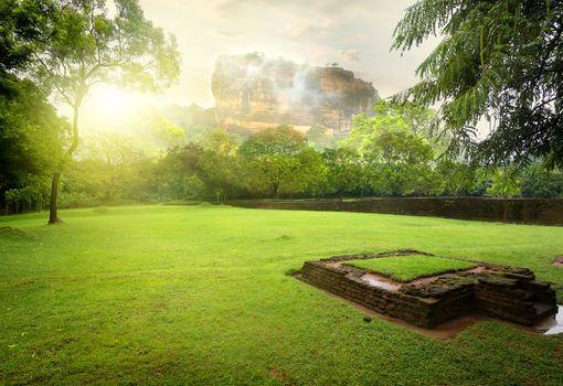 Meadow near Sigiriya