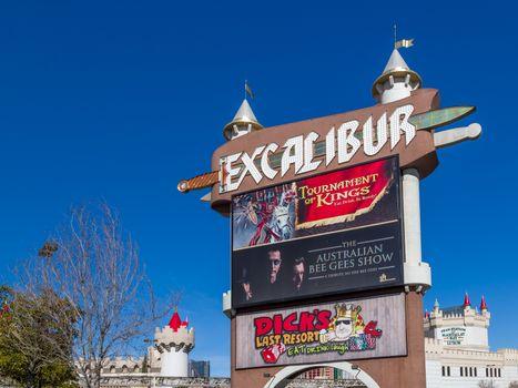 The Excalibur Hotel and Casino