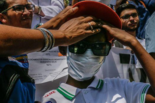 VENEZUELA - OPPOSITION - HEALTH - DEMO