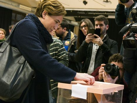 SPAIN - GENERAL ELECTIONS - BARCELONA