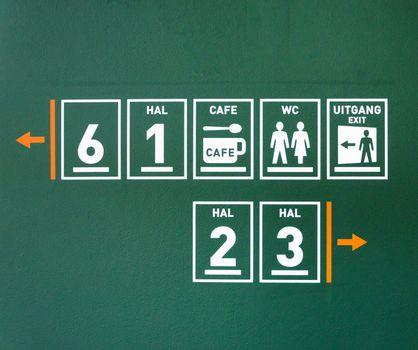 Public pictogram