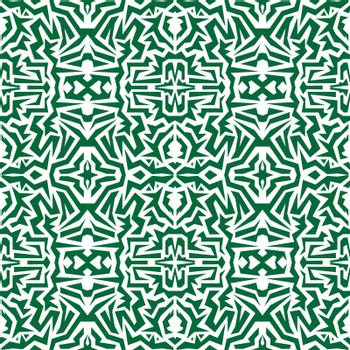 seamless wallpaper. Motley African repetitive pattern. Green pri