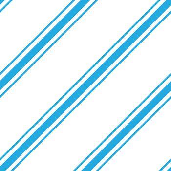 Seamless simple wallpaper. The diagonal blue stripes on a white