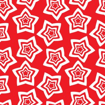 Seamless wallpaper. repetitive print with stars