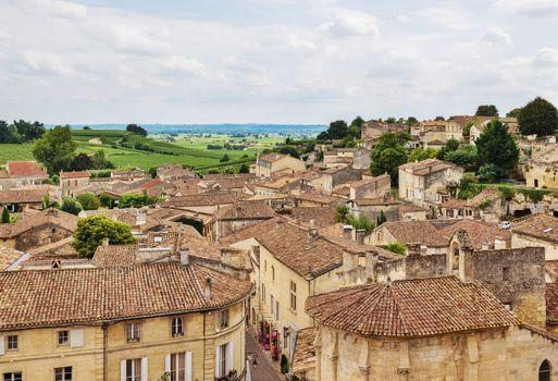 Old town of Saint-Emilion, France