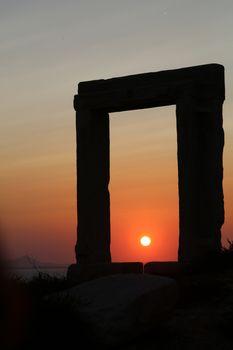 Apollo gate of Naxos