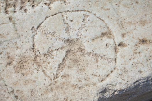 Ancient Christian Iota Symbol