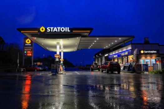 Fra Statoil stasjon