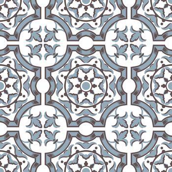 Colourful ornament tiles