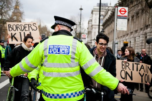 ENGLAND - LONDON - PROTEST