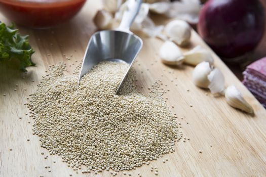 Scoop of Quinoa