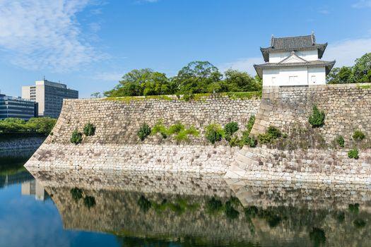 Osaka Castle fortification