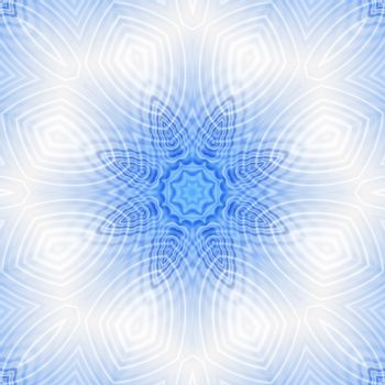 Blue and white background with abstract pattern