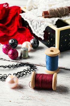 Skill in needlework