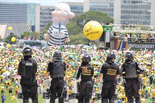 BRAZIL - PROTEST - CORRUPTION