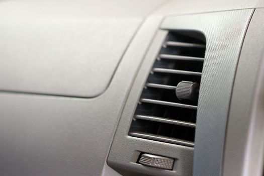Car accessories ducting air conditioning. Air conditioner in com