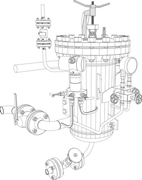 Picture of heat exchanger
