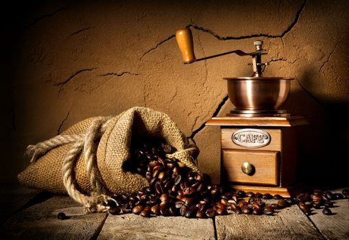 Coffee and mill