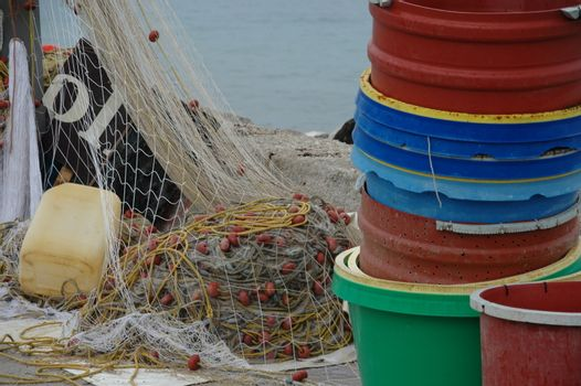 Fisher nets and bins