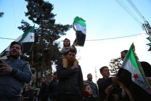 SYRIA - PROTEST - CONFLICT - REVOLUTION
