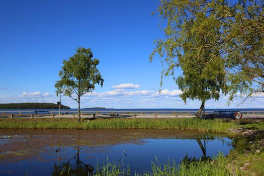 Lake Vattern in Sweden